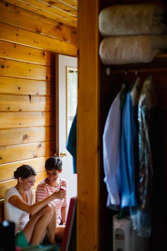 Holland Lake Lodge Wedding Photographer | Cluney Photography