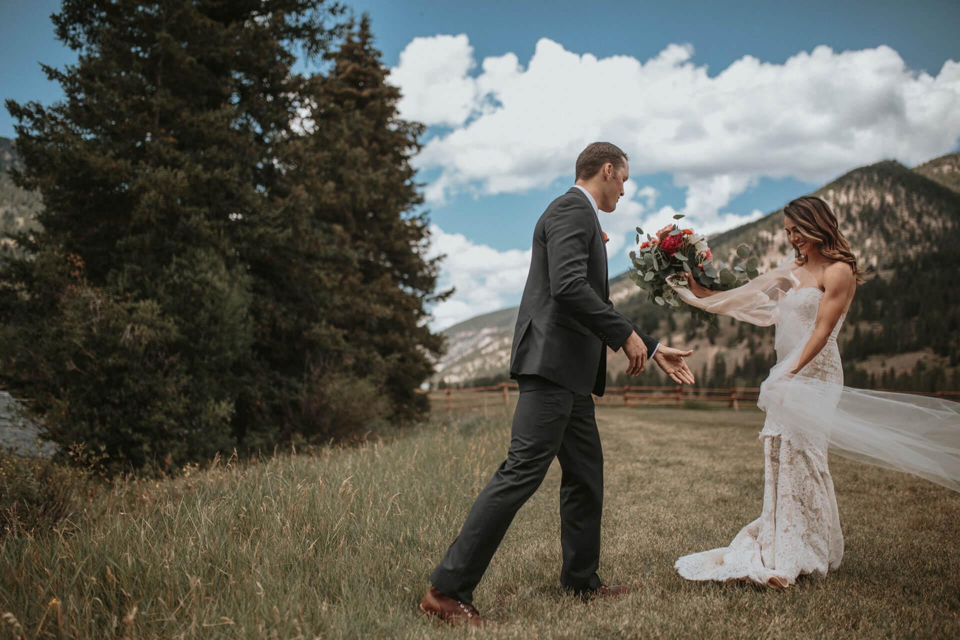 Big Sky Wedding Photographers | Cluney Photography