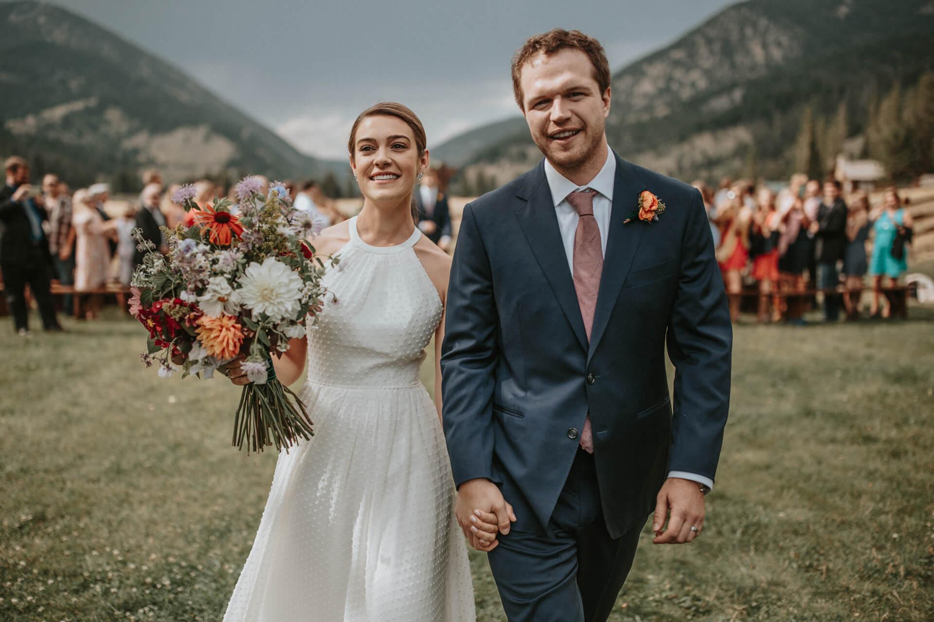 Big Sky Wedding Photo