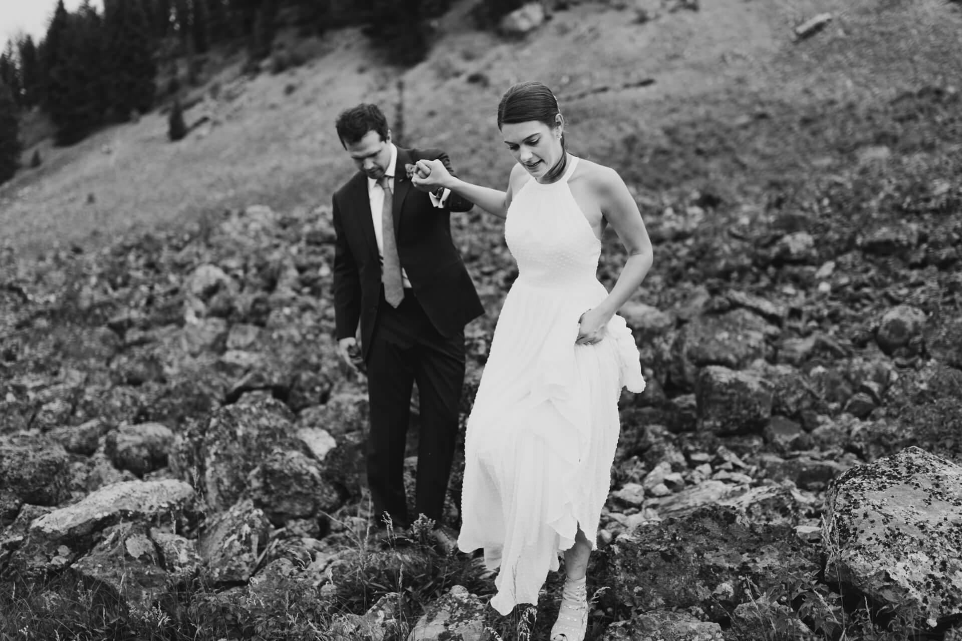Montana Hot Springs Wedding