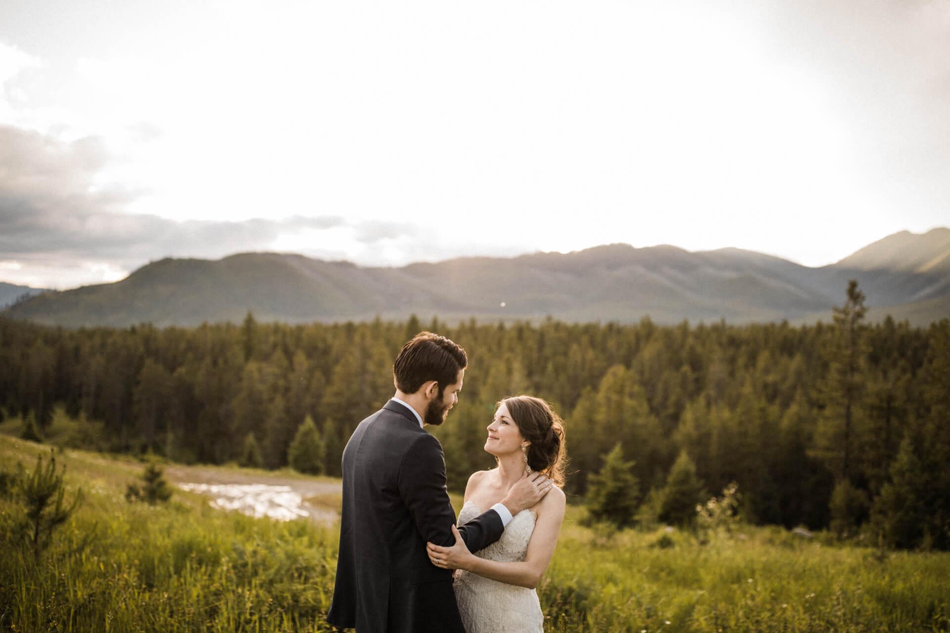 Glacier Park Wedding