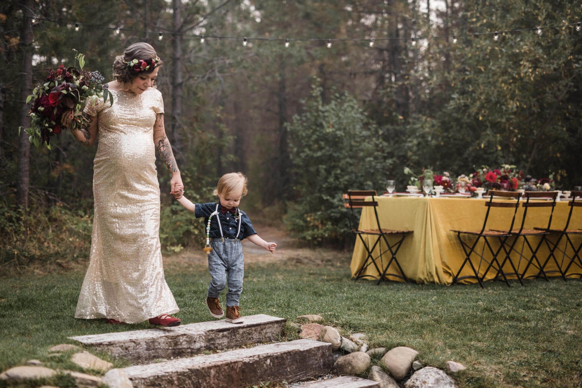 Pregnant Bride Elopement