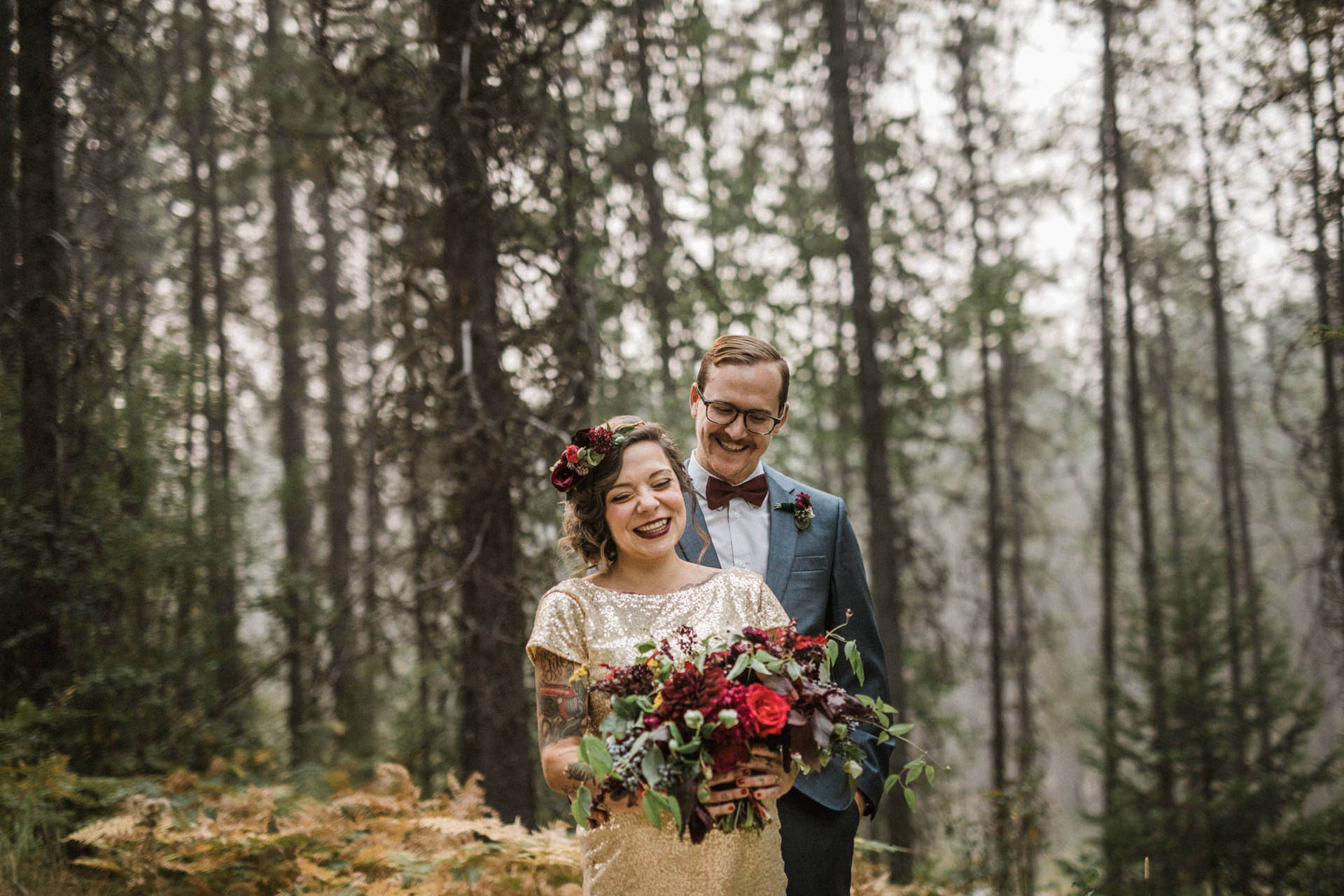Des Moines Elopement Photographers | Cluney Photography