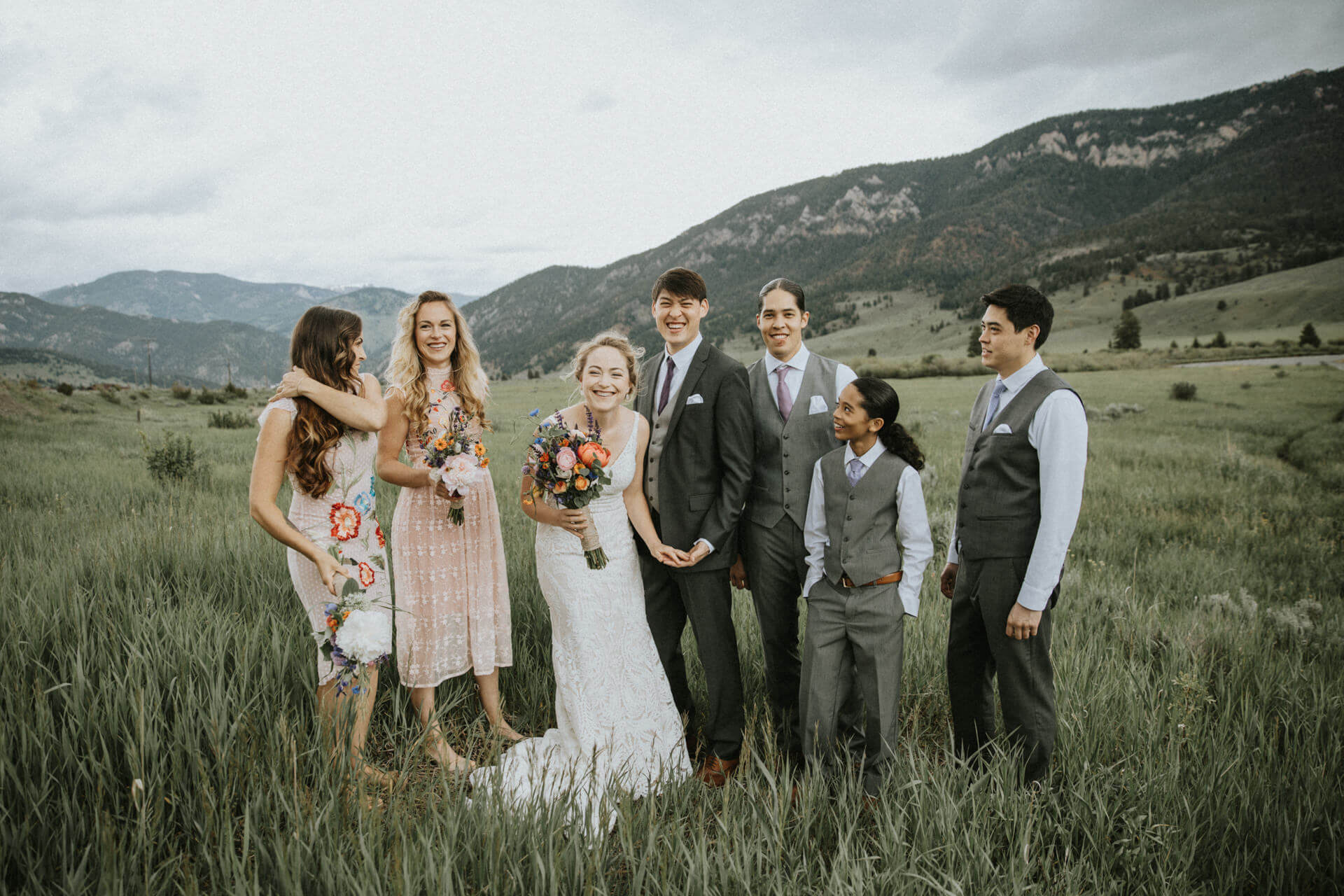 Big Sky Destination Wedding Photographers | Cluney Photography
