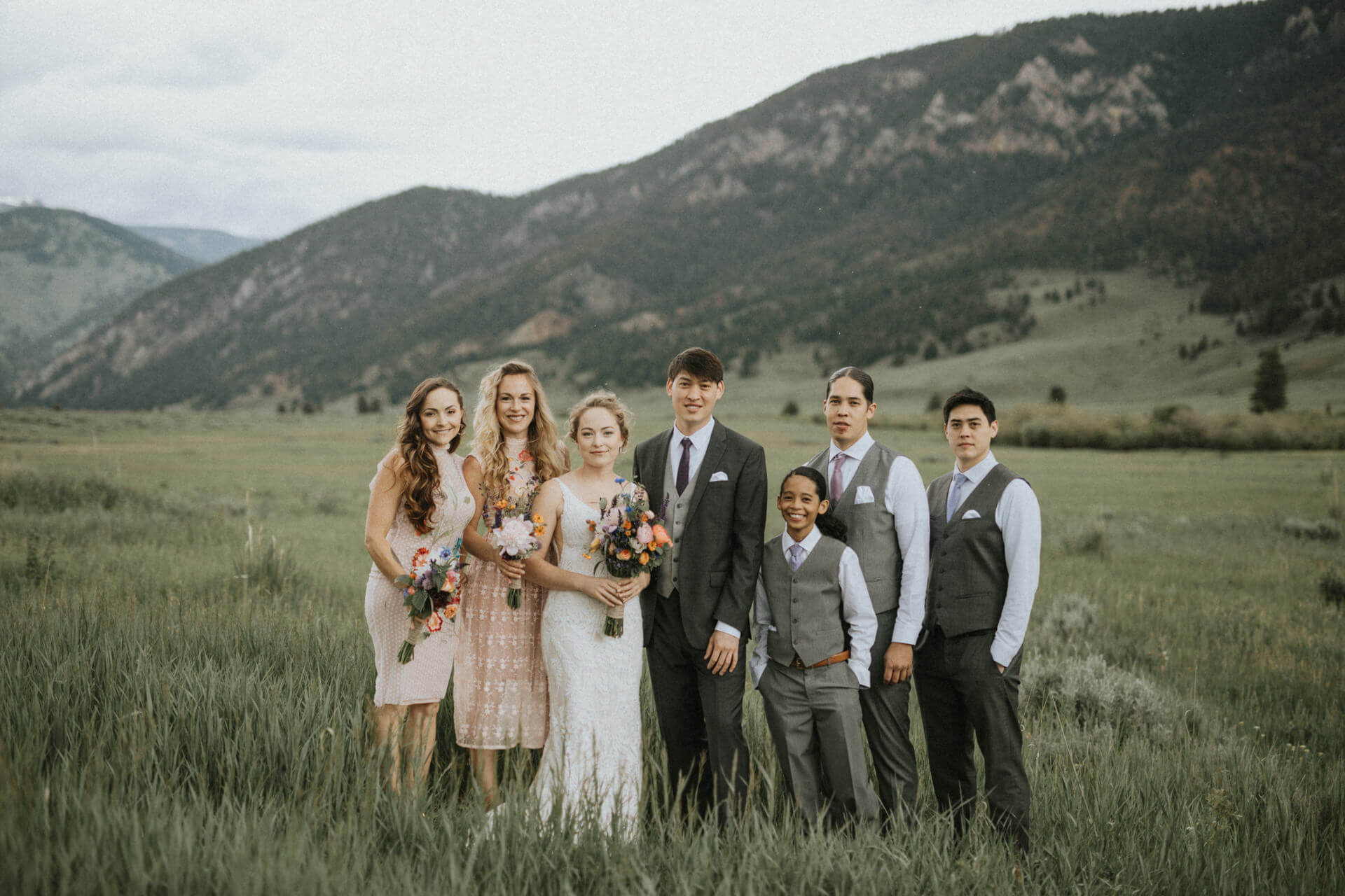 Big Sky Destination Wedding Photographer | Cluney Photography