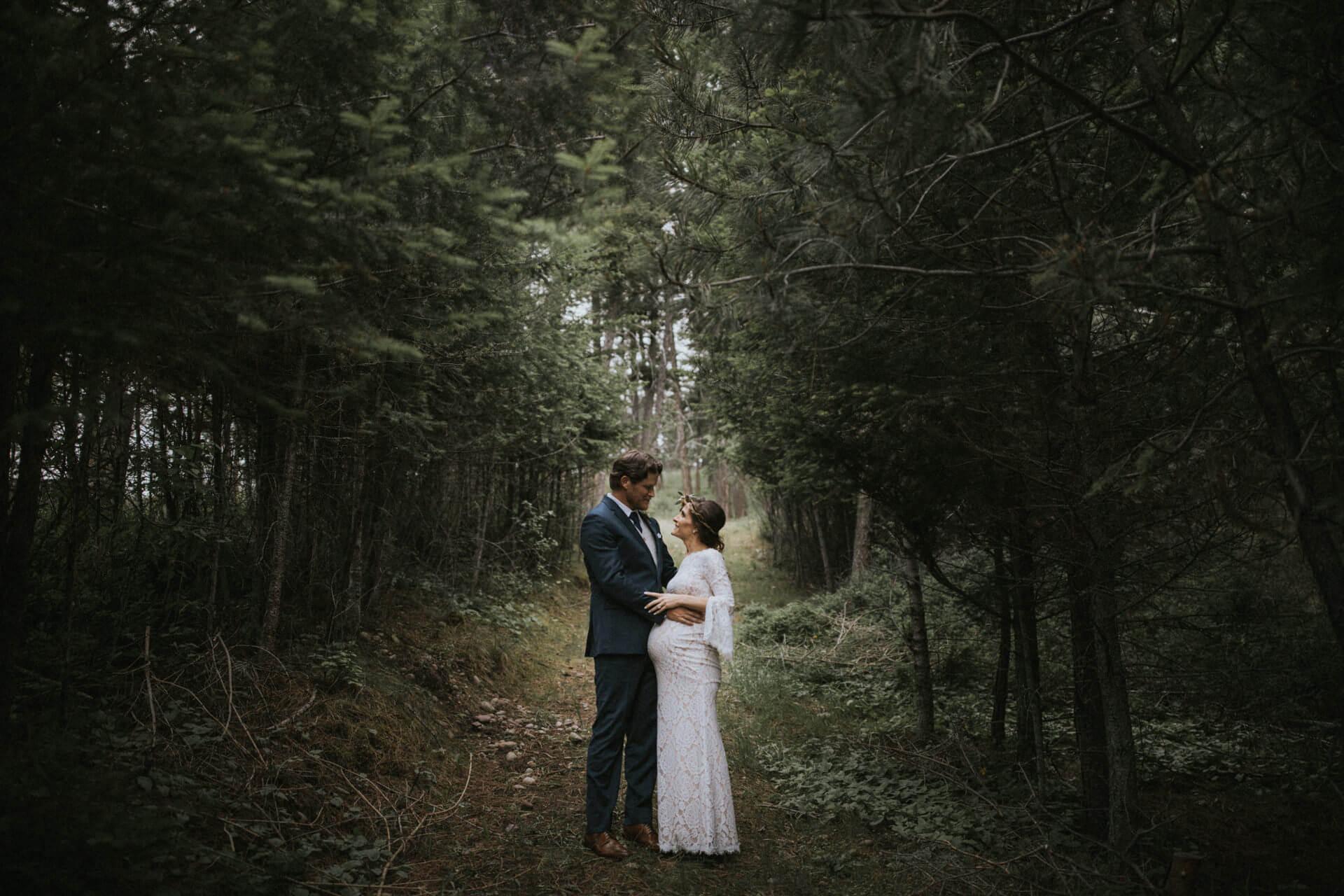 Glacier Park Wedding Photography