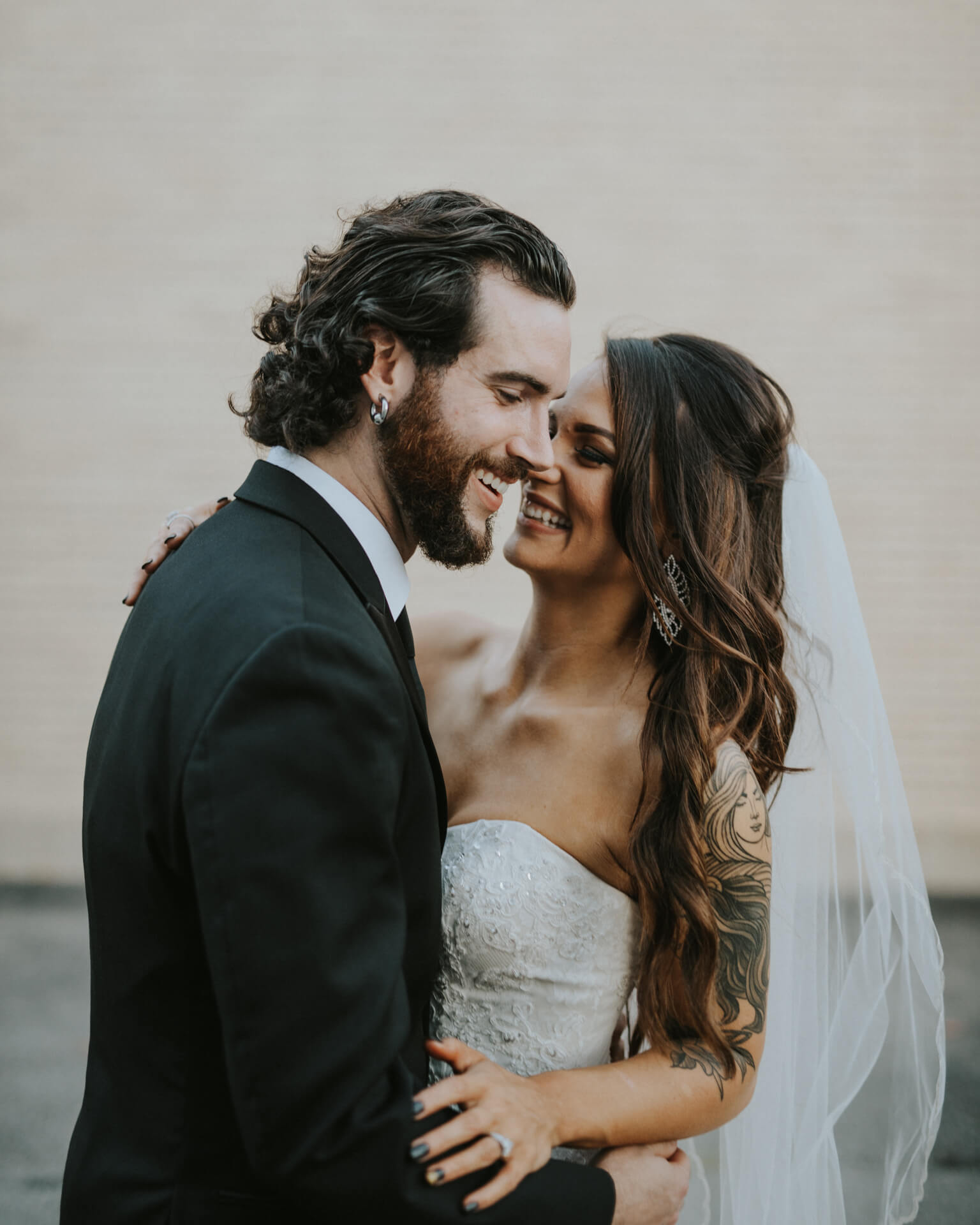 Nashville Tennessee Wedding Portrait
